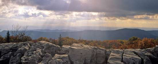West Virginia's vacation view